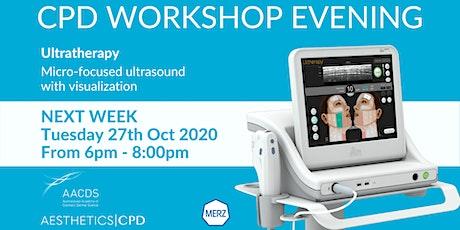 Ultratherapy MERZ - CPD Workshop Evening October 2020 tickets