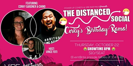 The distanced social with chino! tickets