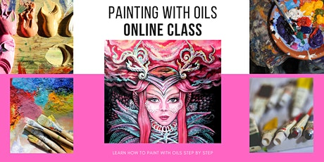 Oil Painting - Online ART Class with Lana Chromium tickets