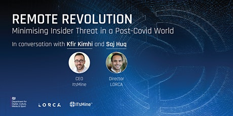 Remote Revolution: Minimising Insider Threat in a Post-Covid World tickets