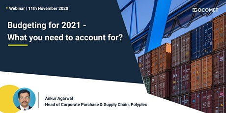 Supply Chain Expansion - Technology & Budget for 2021 tickets