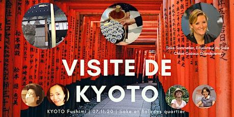 Sakés et architecture du quotidienne de Kyoto billets