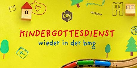 Kindergottesdienst am 08.11.2020 in der bmg Leonberg Tickets