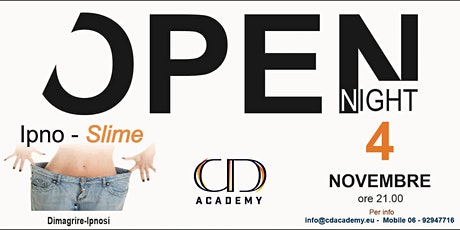 Open Night Ipnosi  x  Dimagrire tickets