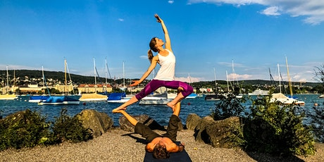 AcroYoga all level Class - Donation based with Salva - bareful.ch billets