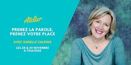 S'exprimer et Créer Impact et Inspiration avec Isabelle Calkins billets
