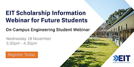 On-Campus Engineering Student Webinar - November 2020 tickets