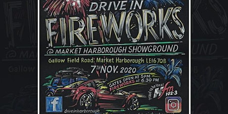 Drive In  Fireworks Harborough tickets