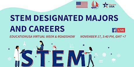 STEM Designated Majors and Careers tickets