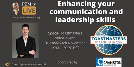 Enhancing your communication and leadership skills with Toastmasters tickets