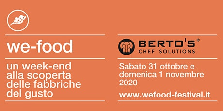 We-Food 2020 @ Berto's biglietti