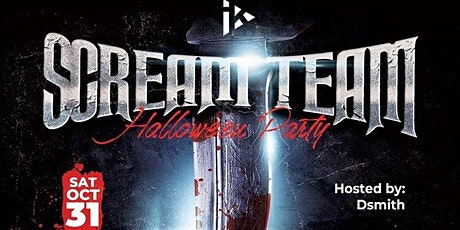Scream Team Halloween Party at Infinite Kreationz Studios tickets