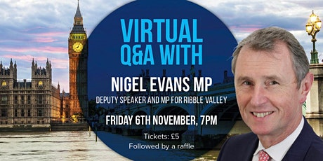 An Online Evening with Nigel Evans MP tickets