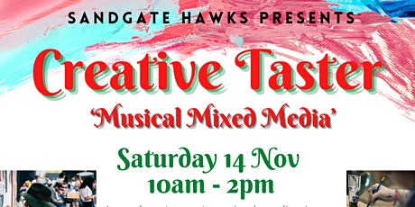 Mixed media creative taster workshop tickets