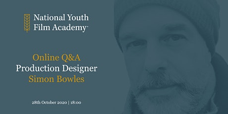 Simon Bowles - Production Designer Webinar tickets