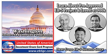 Washington EB-5 American Green Card Virtual Market Series tickets