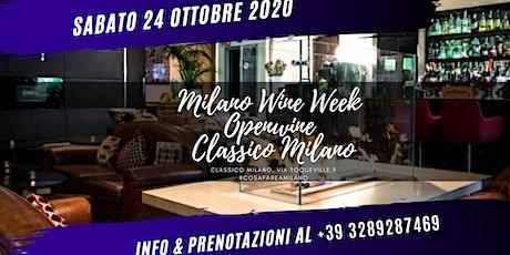 OPENWINE -  In CORSO COMO - Classico Milano biglietti