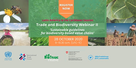 Trade and Biodiversity Webinar II tickets