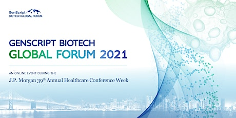GenScript Biotech Global Forum2021 tickets