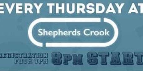 The Shepherd's Crook Quiz Night tickets