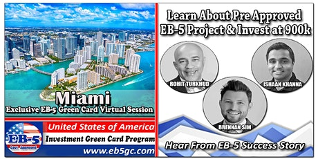 Miami EB-5 American Green Card Virtual Market Series tickets