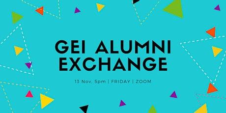 GEI Alumni Exchange 2020 tickets
