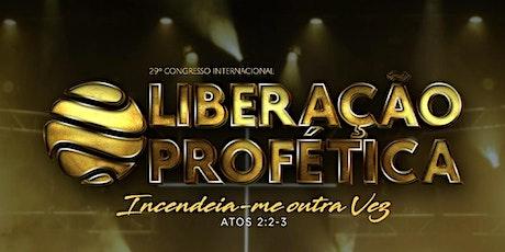 Congresso Liberação Profética Online ingressos