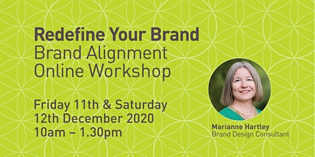 Redefine Your Brand - Brand Alignment Workshop tickets