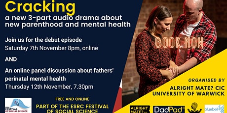 Cracking: an audio play on fathers' mental health tickets