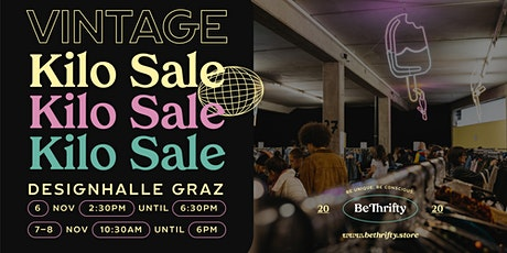 BeThrifty Vintage Pop Up | Designhalle Graz Tickets