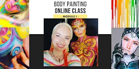 Body Painting Class - Module 1- Online Art Class with Lana Chromium tickets