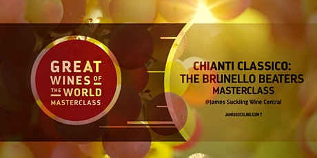 Great Wines of the World Masterclass: Chianti Classico's Brunello Beaters tickets