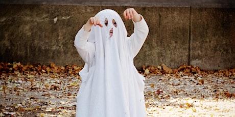 Skapa halloweenkostymer: workshop för familjer med barn biljetter