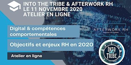 Digital & compétences comportementales - Objectifs et enjeux RH en 2020 billets