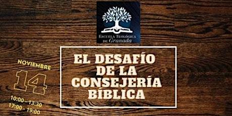 Los desafíos de la consejería bíblica tickets
