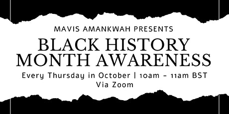 Black History Month Awareness Seminar tickets