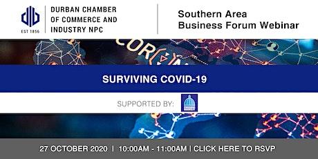 Webinar: Southern Area Business Forum - 27 October 2020 tickets