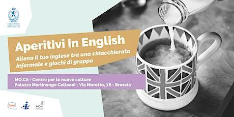 Aperitivi in English biglietti