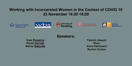 Working with Incarcerated Women in the Context of Covid 19 tickets