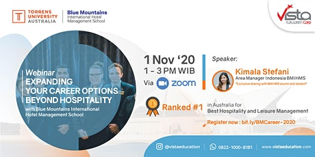 Expanding Your Career Option Beyond Hospitality - Free Webinar tickets