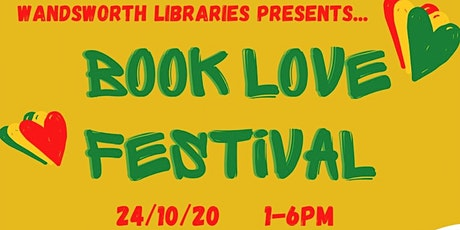 Wandsworth Libraries presents: BookLove ONLINE Festival tickets