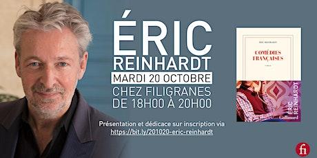 Rencontre avec Eric Reinhardt billets