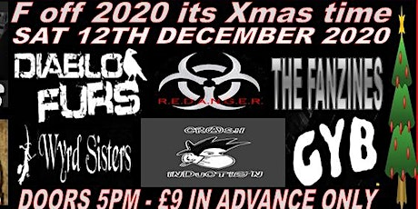 F off 2020 its Xmas time undercover the suburbs the holroyd - Guildford tickets
