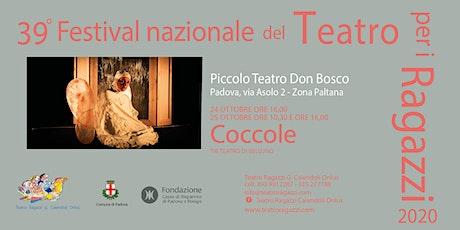 COCCOLE - sabato 24/10/2020 ore 16.00 biglietti