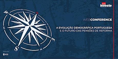 A Evolução Demográfica Portuguesa e o Futuro das Pensões de Reforma ingressos