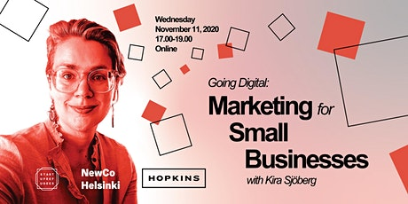 Going Digital: Marketing for Small Businesses tickets