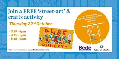 'Street-Art' & Crafts Activity tickets