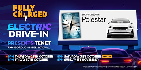 Fully Charged ELECTRIC DRIVE-IN  Cinema sponsored by Polestar tickets