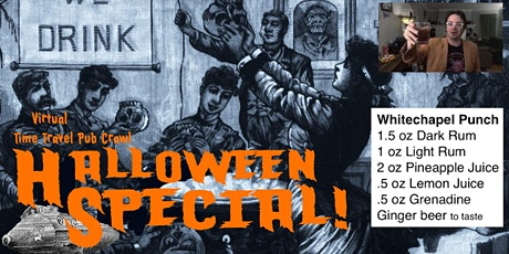 Virtual Time Travel Pub Crawl: Halloween! tickets