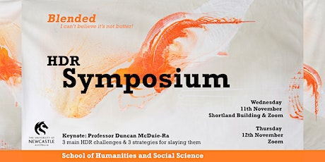HASS HDR Symposium, November 2020 tickets